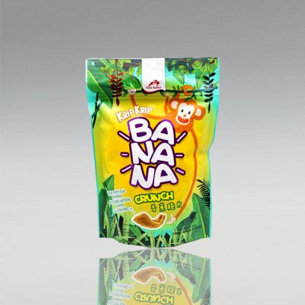 Bananenchips Banana Crunch, süß, 100g, Dua Kelinci