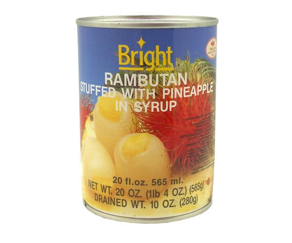 Rambutan mit Ananas in Syrup, Aroy-D, 565g