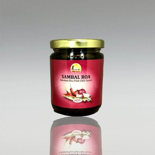 Sambal Roa Chili-Fisch Sauce, 200g