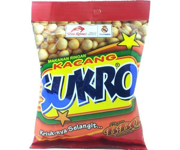 Kacang Sukro, Barbeque, 140g