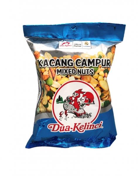 Kacang Campur Mixed Nuts, Dua Kelinci, 65g