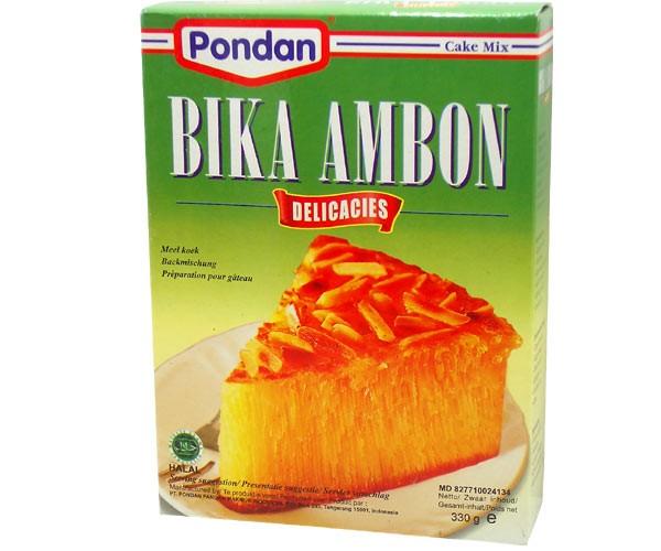 Backmischung für Kokoskuchen Bika Ambon, 330g