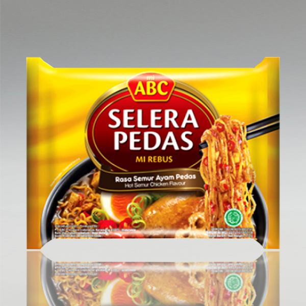 "Nudelsuppe mit Semur-Geschmack ""Selera Pedas"", ABC, 70g"