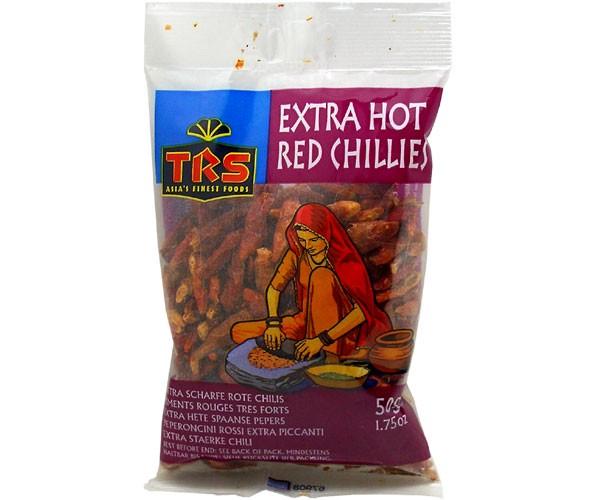Chili, getrocknet, ganz, 50g