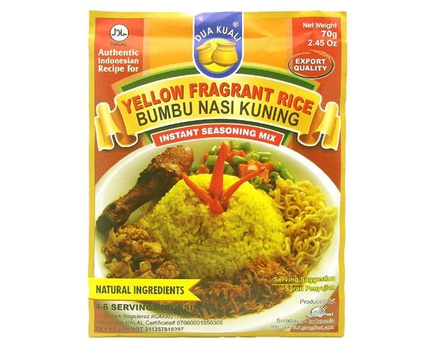 Bumbu Nasi Kuning, Dua Kuali, 70g