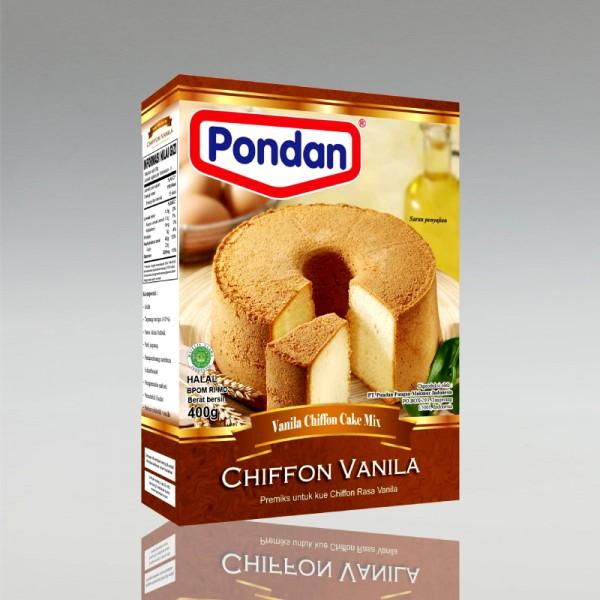 Backmischung für Vanillekuchen Vanila Chiffon, 400g