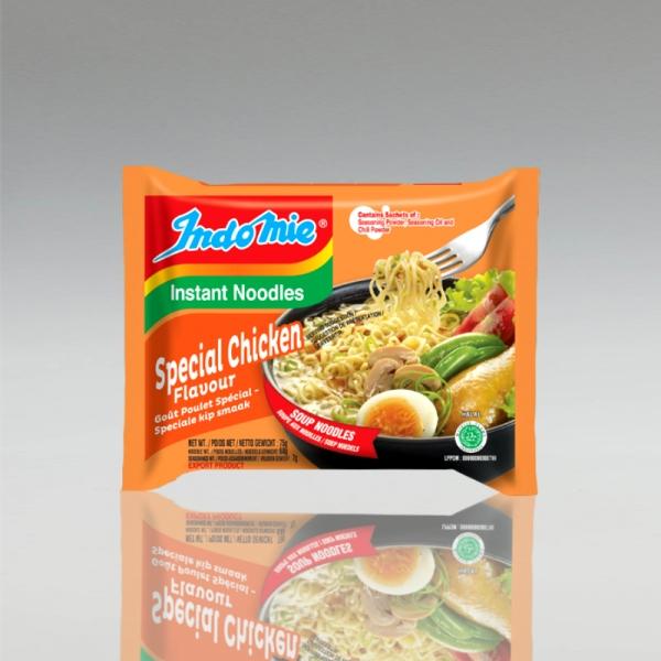 1 Karton (40 Stück) Indomie Special Chicken Flavour