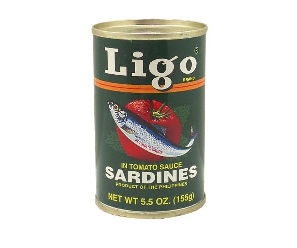 Sardinen in Tomatensoße, Ligo, 155g