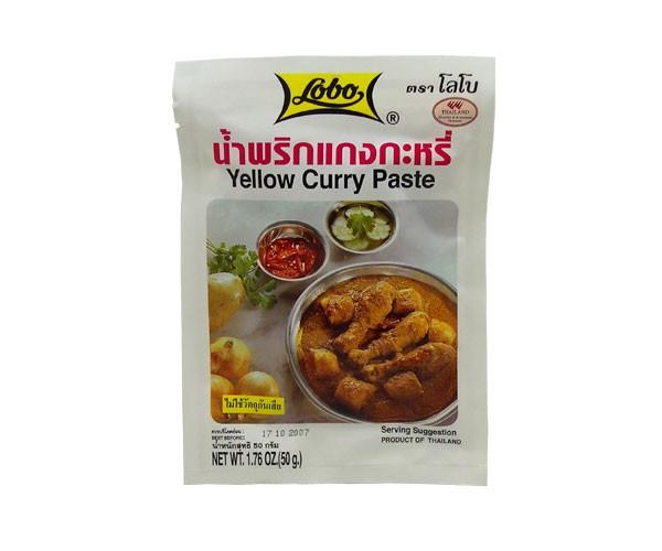 Currypaste, gelb, 50g